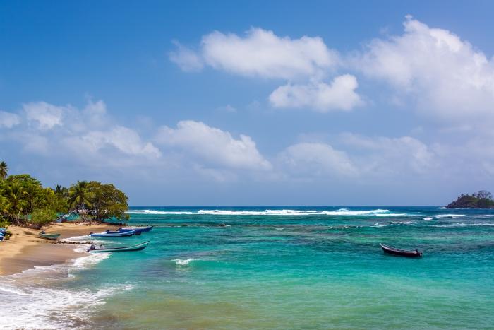 Beautiful Caribbean Water
