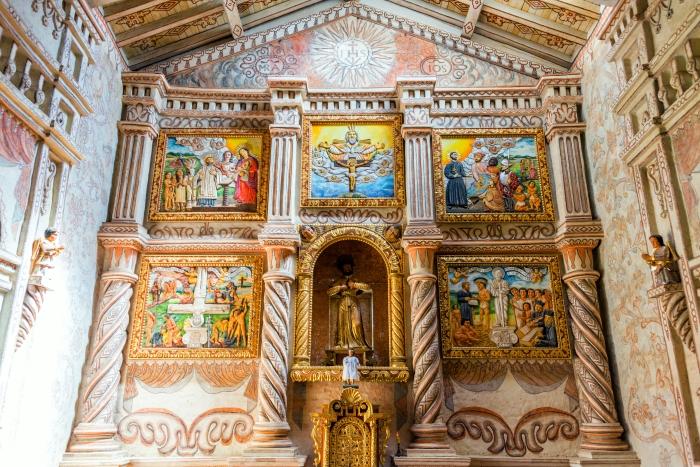 San Javier Church Altar