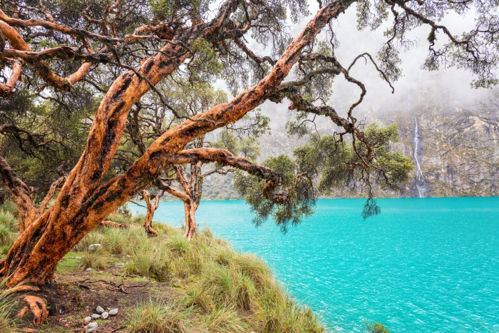 Blue Lake in the Cordillera Blanca