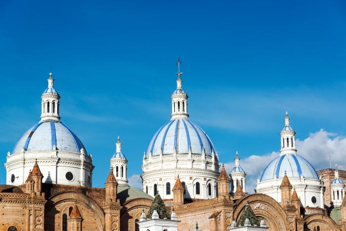 Cuenca Cathedral Domes